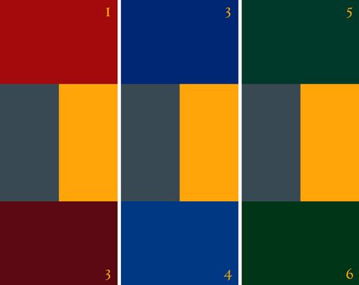 Reichsritter: Farbschema
