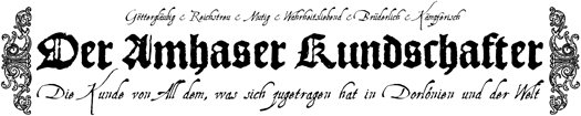 """Der Amhaser Kundschafter"" #01"