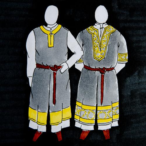 Reichsritter: Kleidungsskizzen Kapitel VII