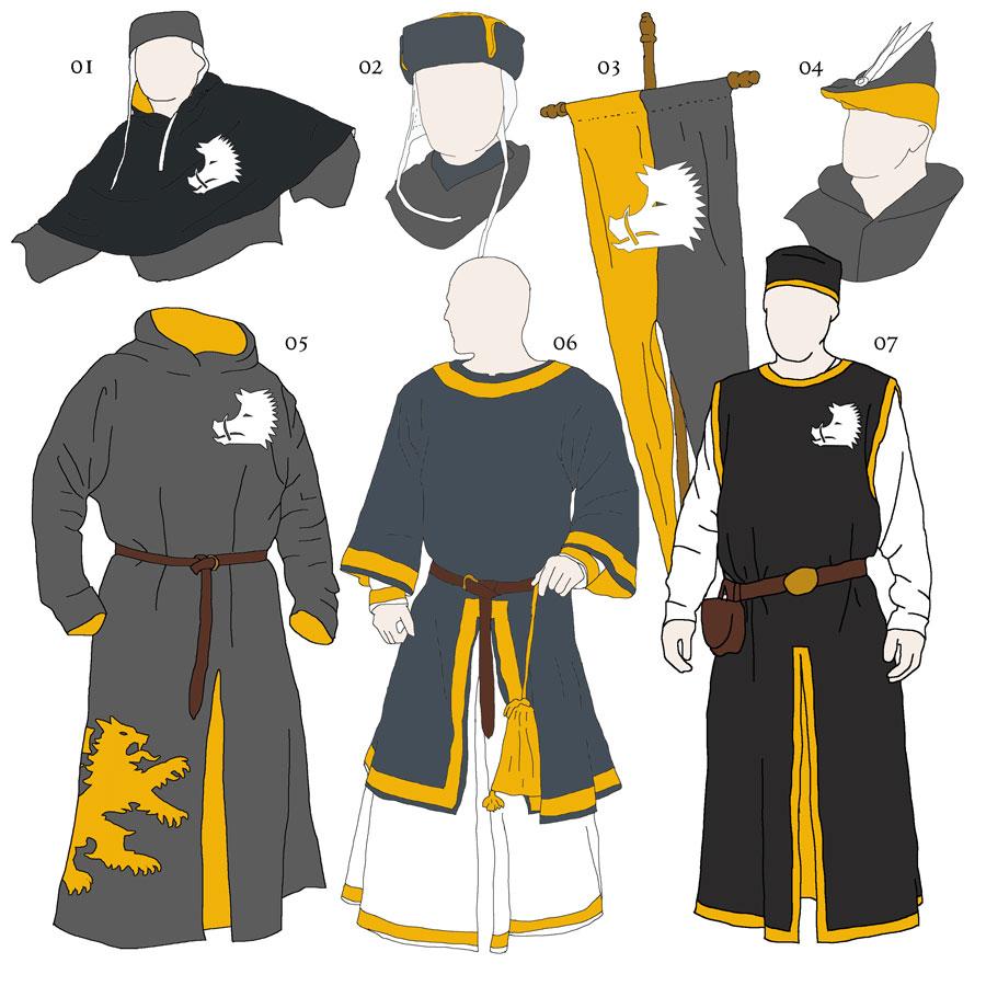 Reichsritter: Des Ritters zukünftige Kleider