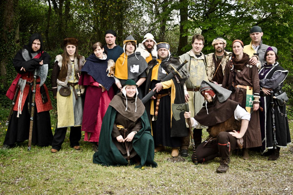 Der Ritter und seine Orktrutzer auf Ceomes Feste