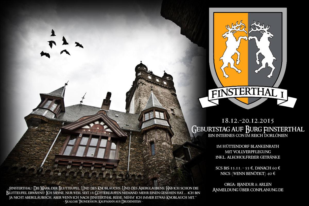 Flyer für das Finsterthal 1