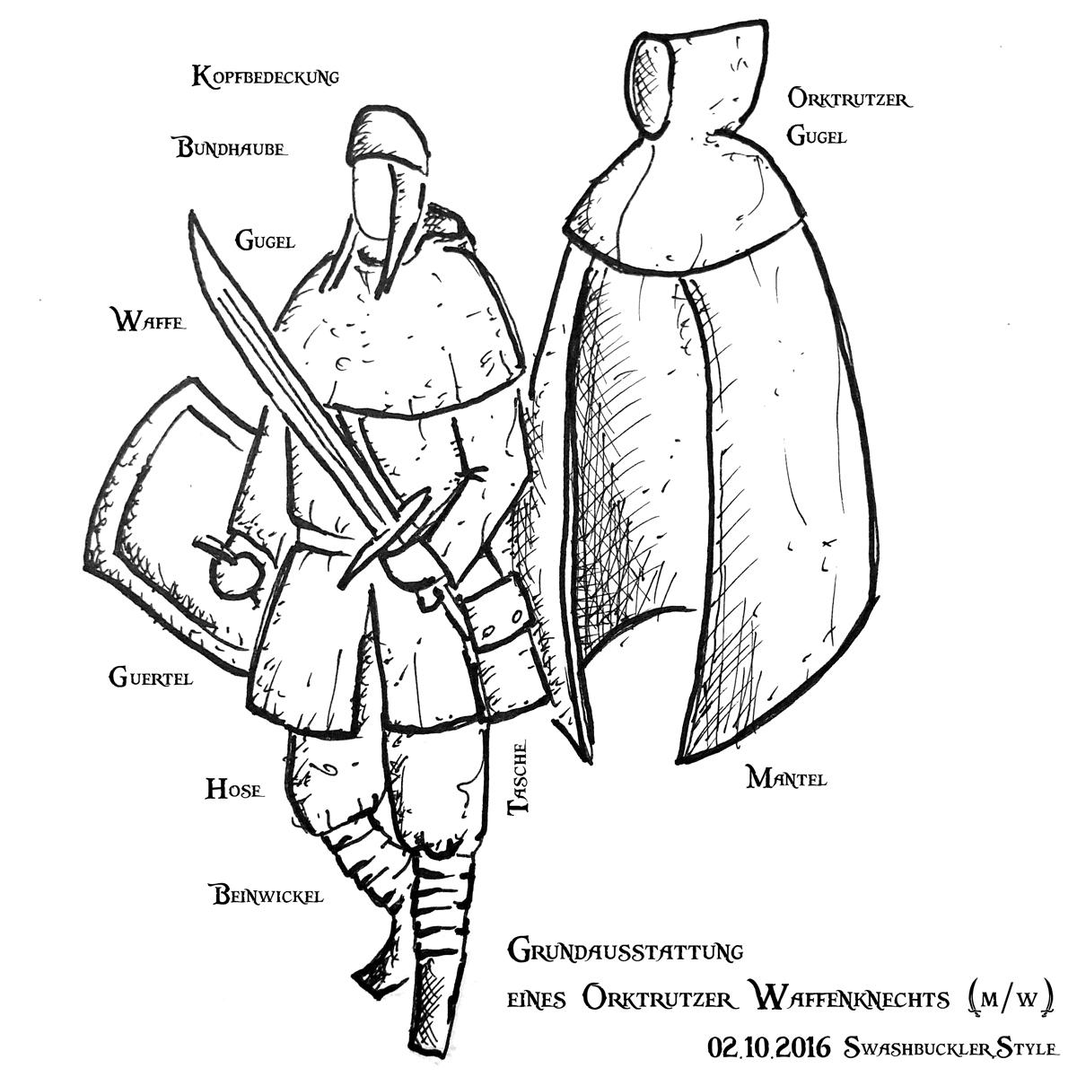 Die Grundausstattung eines Orktrutzers