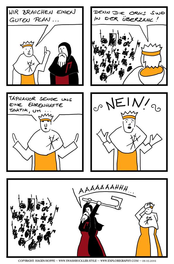 Comic: Wir brauchen einen Plan …