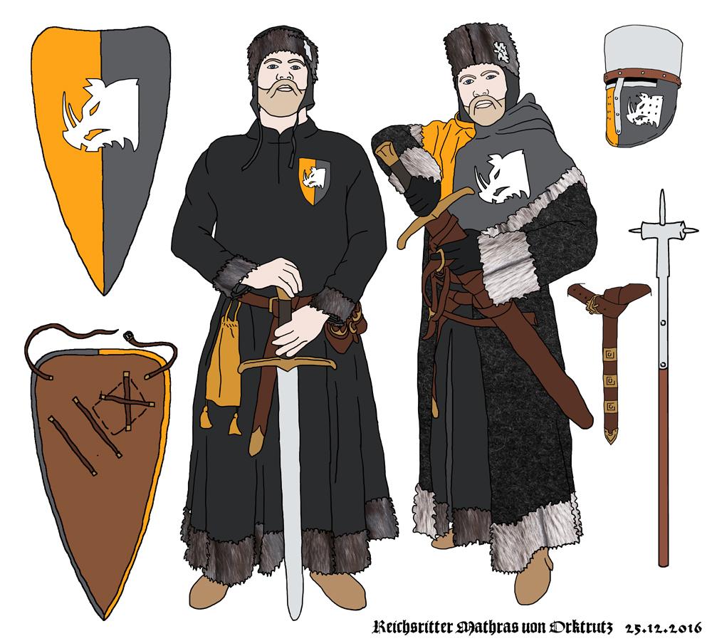 Mathras – ein dorlónischer Fantasy-Ritter