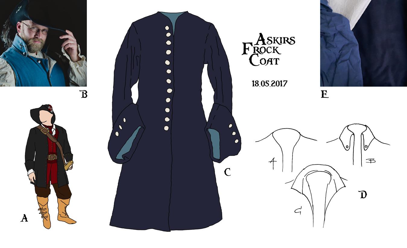 Ein Frock Coat für Askir #1