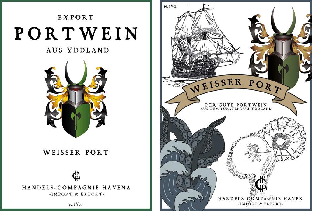 Etikett: Weißer Port