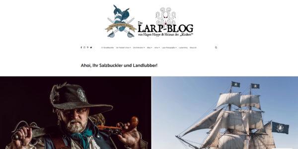 Neues Blog- und Logo-Design
